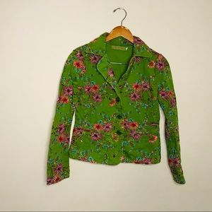 Johnny was embroidery blazer